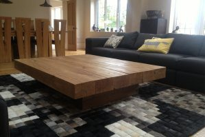 All Oak Beam Tables