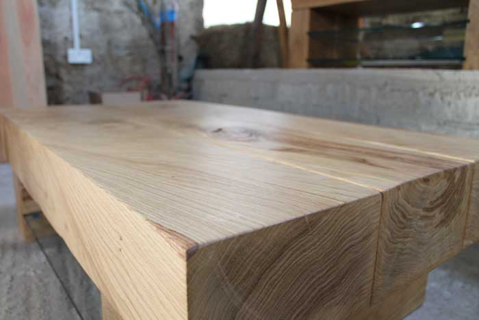 Chunky Wood Table ~ Chunky wood tables abacus