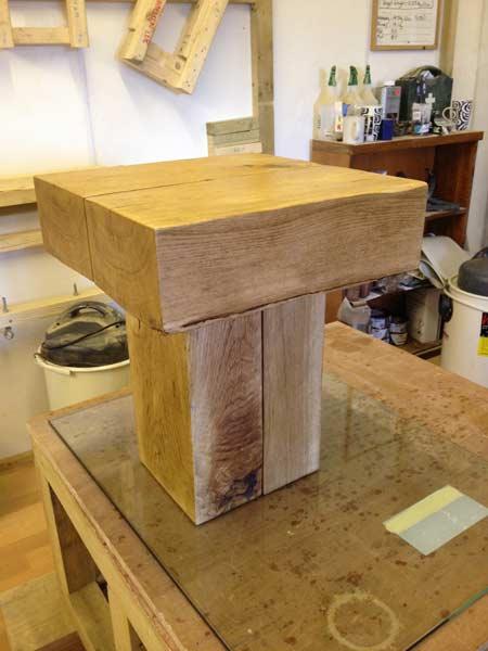 Oak Side Table: Solid Oak Side Tables