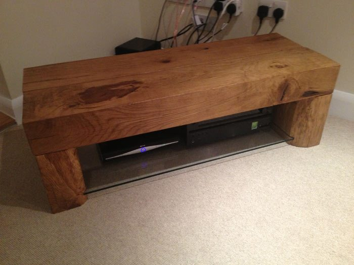 Oak TV Table Abacus Tables