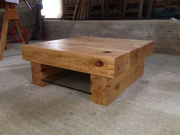 Arabica Classic Style 4 Beam 0.86m Square Table