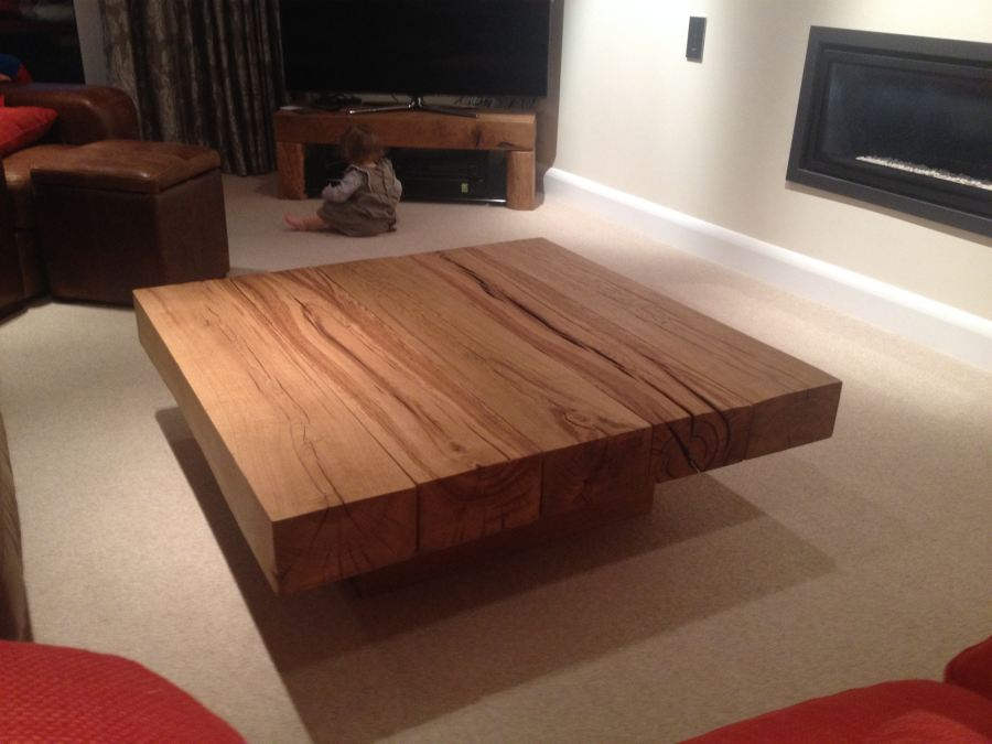 Extra large square coffee table pictures to pin on pinterest