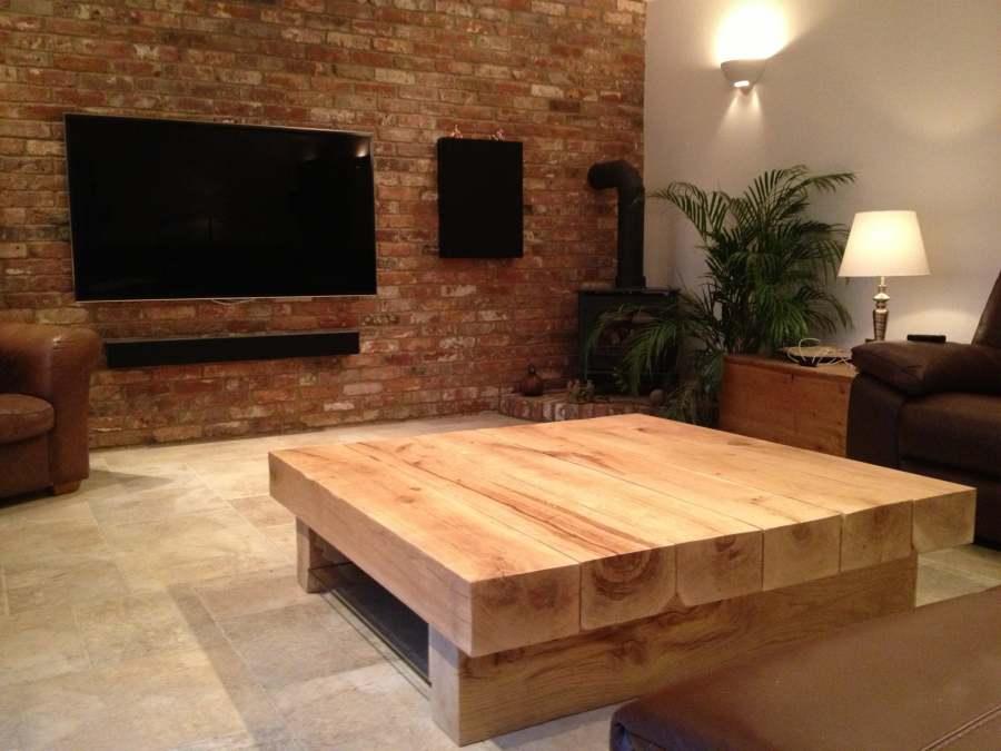 Arabica 1.3m Square Classic Style Coffee Table