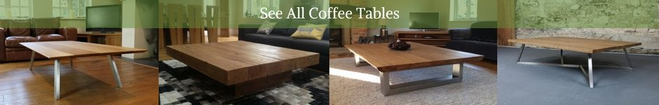 large oak coffee table banner