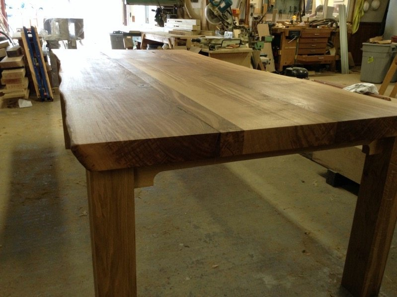 This Large Oak Dining Table Can Take Any Amount Of Weight Or Everyday Use  Because Of The Immense Strength Of The Thick Oak Top And Base, Locked  Together ...