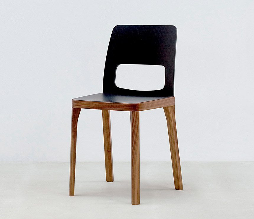 Modern dining chairs for Contemporary oak dining chairs