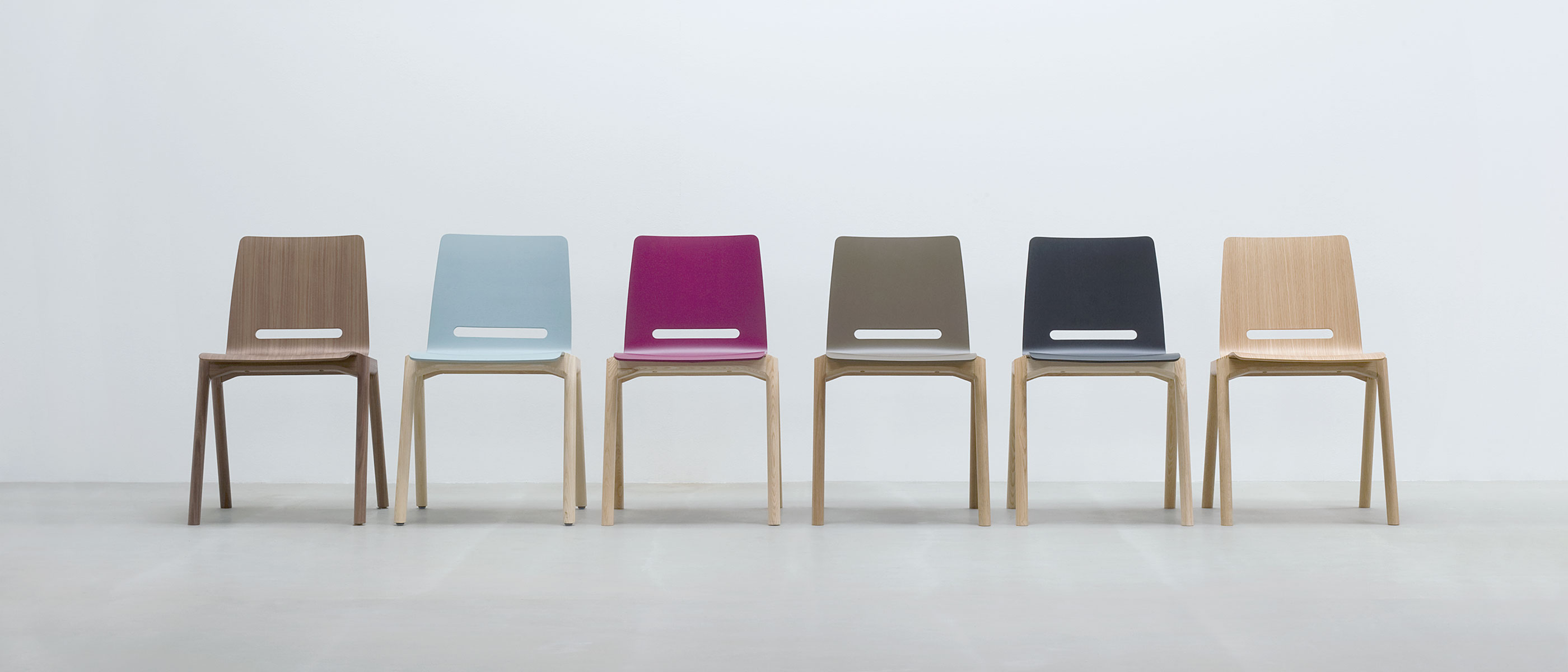 Modern dining chairs abacus tables for Design holzstuhl