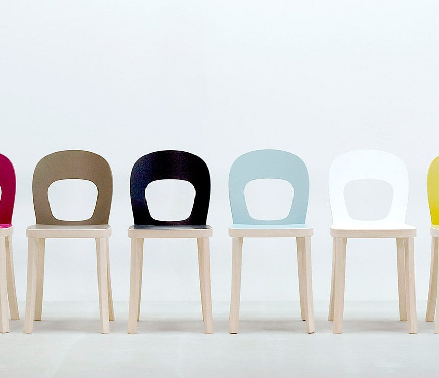 The ST6N Round Back Chair Colour Pallette