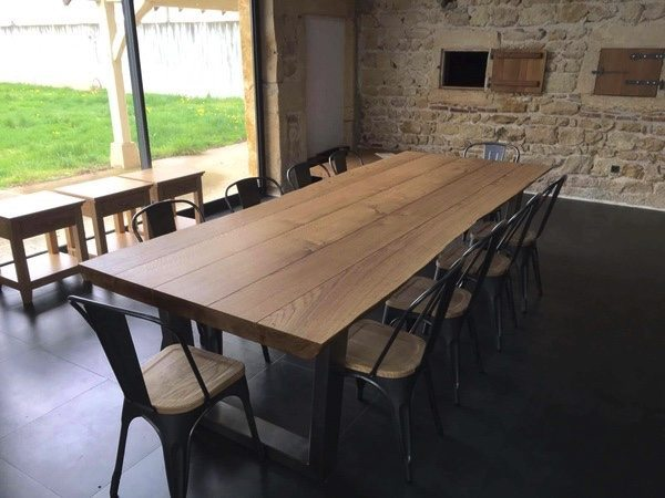 table hard wax oil finish smoked oak. Which Table Finish is The Best    TarzanTables co uk