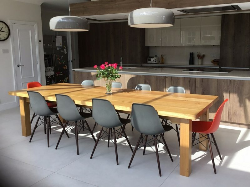 10 Seater Farmhouse Dining Table