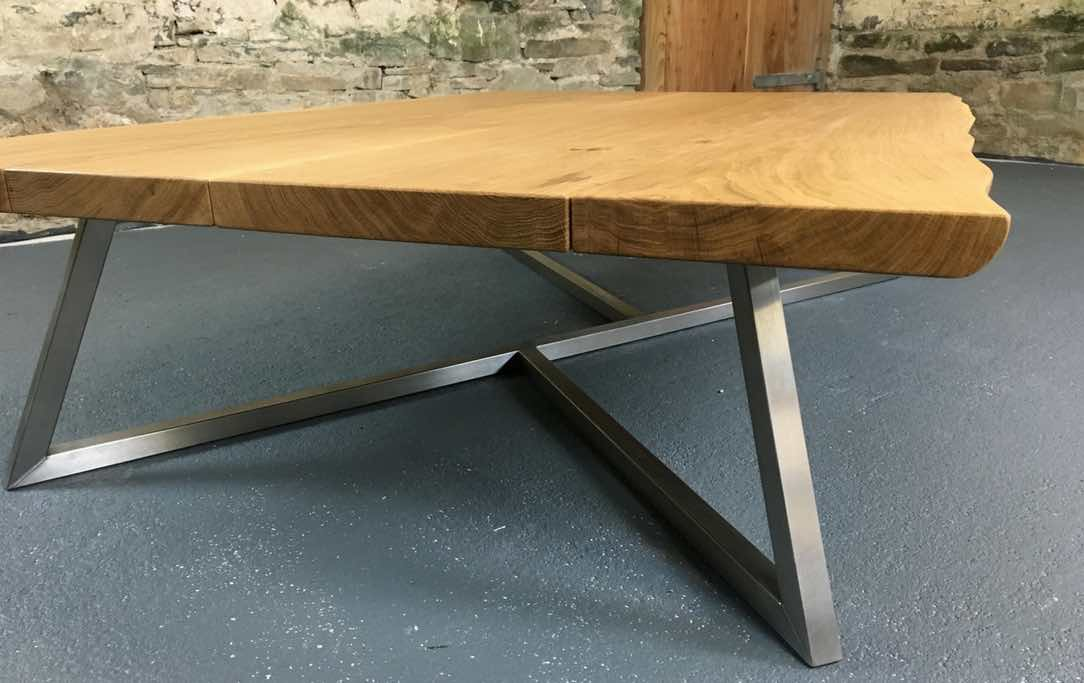 The Scorpion Coffee Table with Live-Edge