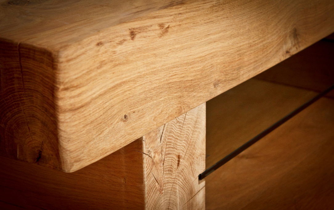 Arabica Oak Beam Coffee Table