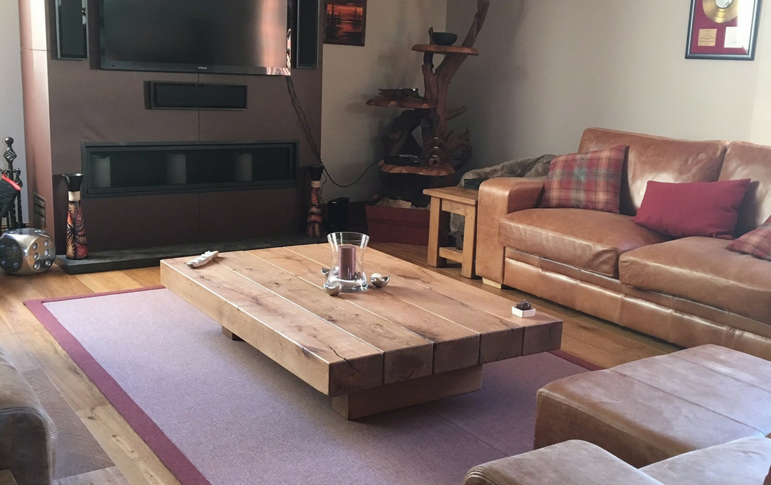 5 Beam Amazonica Floating Style Coffee Table