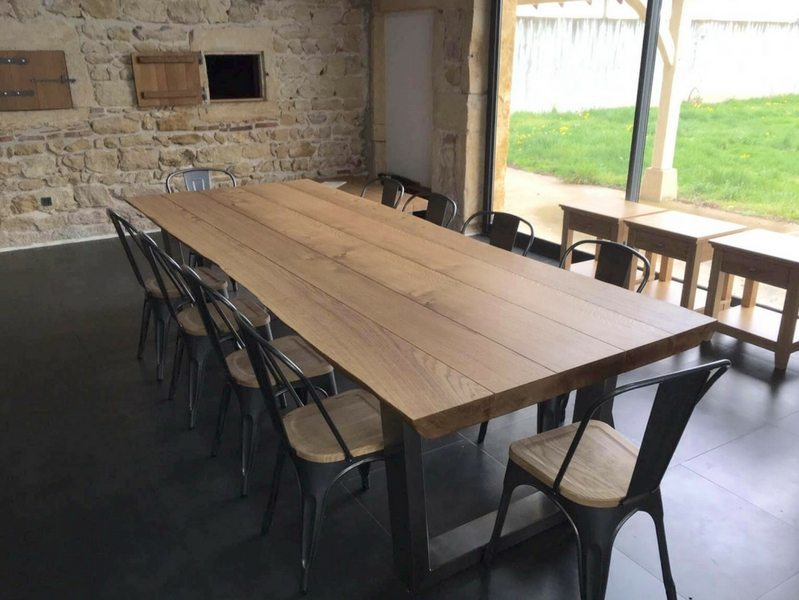3m x 1.1m Komodo Dining Table with 65mm